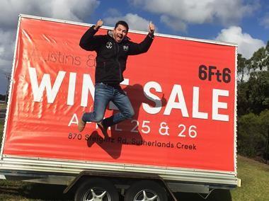 Austins Wine sale